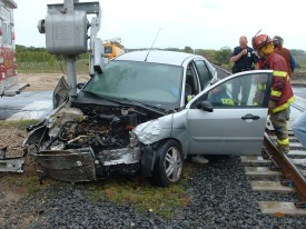 Car Vs. Train 2008