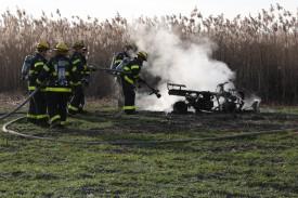 ATV Fire Wickham's Farm - 2008