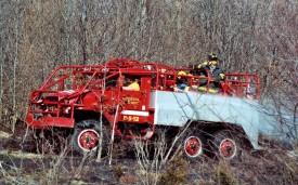 Mutual Aid to Mattituck FD - Brush Fire 6/06