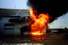 2/3/00 - Barn Fire - Zaneski Farm