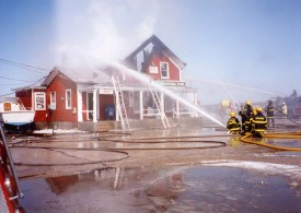 New Suffolk Post Office Fire 1993