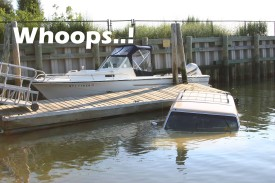 Car into the water- New Suffolk boat ramp