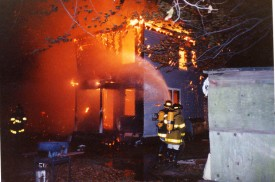 Tuthill Lane House Fire - 1990