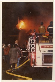 Sacks Potatoe House Fire - Mattituck: October 1980