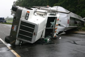 10/01/06 Tanker Rollover on Route 48