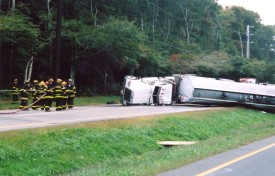 10/1/06 Tanker Rollover on Route 48