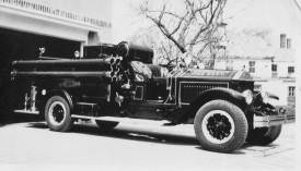 1930 American LaFrance Engine