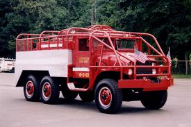 8-5-12 - 1952 GMC Military 2 1/2 ton Brush Truck - Puchased in fall 2002 from Riverhead FD - Retired Fall 2010