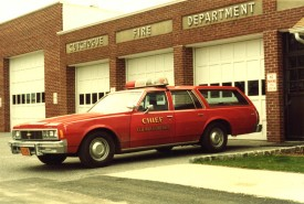 CFD's First Chiefs car 1979