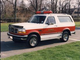 1993 Ford Bronco Chiefs Car
