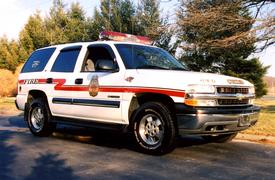 2001 Chevrolet Tahoe Chiefs car