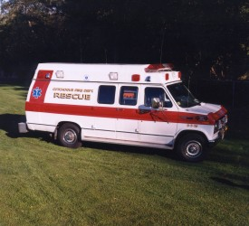 8516 - 1990 Ford Ambulance - CFD's First New Ambulance