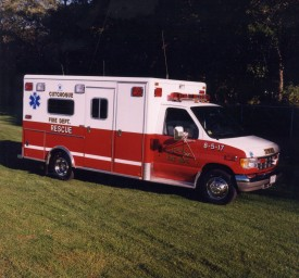 8-5-17 1993 Ford / Horton Ambulance - Now 8-5-15 used for fire police