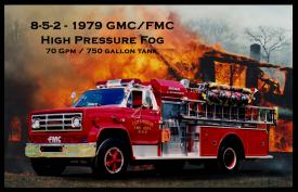 1979 FMC High Pressure Fog - Retired in 2001