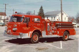 853- 1958 American Lafrance Engine 750/500 -Retired 1987