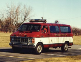 856 - First Fire Police Van