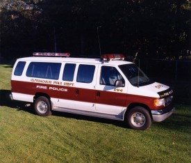 856 -1995 Ford Fire Police Van