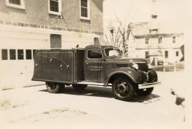 1939 Dodge Utility Truck - Retired 1966