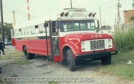 8-5-9 - Converted School Bus,  Retired 1996