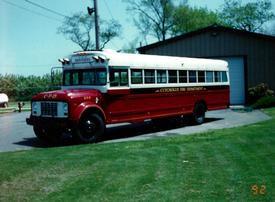 8-5-9 - Department Bus: Retired 1996