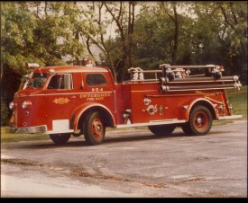 854 - 1949 American Lafrance - Retired 1974