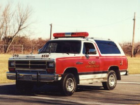 1989 Dodge Ramcharger Chief's Car