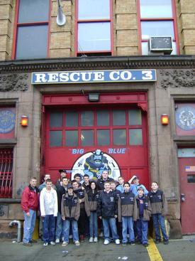 Visit to FDNY Rescue 3 - 3/09