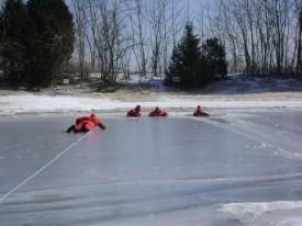 Ice Rescue Training 1/2009