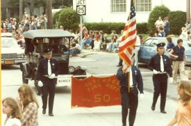 50th anniversary parade 1978