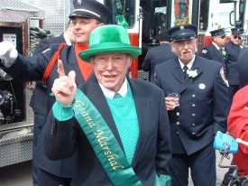 Tom Roslak - Grand Marshal of the Cutchogue St.Patrick's Day parade 2007