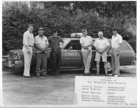 1979 - CFD's First Fire Chiefs car
