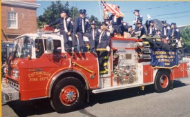 1995 Westhampton Wildfires Heroes Parade