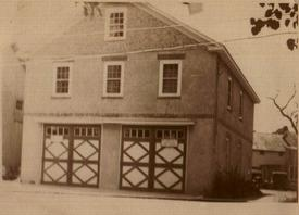 Photo of Original Firehouse Circa 1928