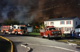 1995 Wildfires- Westhampton: 8-5-2 in foreground