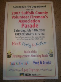 Suffolk County Parade Poster