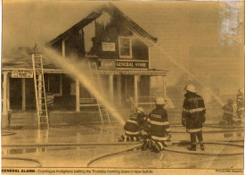 New Suffolk Post Office Fire - Suffolk Times 1993