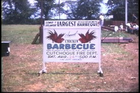 Chicken Barbecue sign