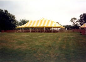 BBQ tent early 1980's
