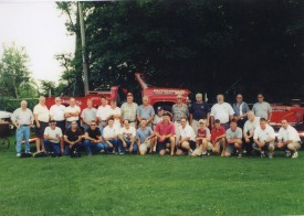 CFD Panthers 75th Anniversary Group Photo 2003 -  Panthers past and Present
