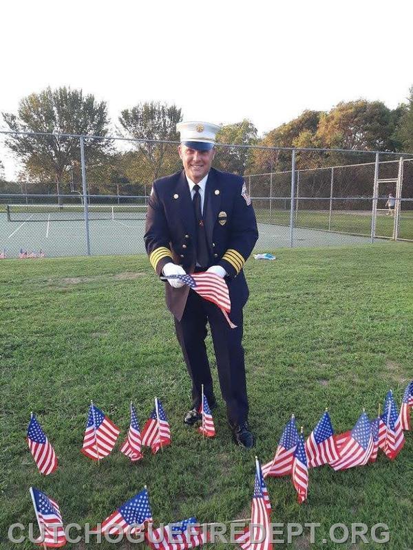 Congratulations Chief Amos Meringer