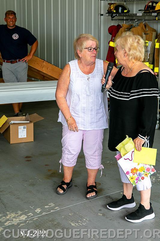 Ladies Aux. 50 year member Suzie Smith