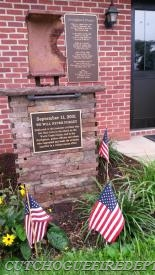 CFD 9/11 Memorial in Front of the Firehouse