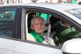 2017 Grand Marshall George Sullivan Courtesy SoutholdLocal.com, Katherine Schroeder Photo