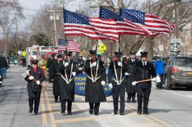 Cutchogue FD Color guard; SoutholdLocal.com, Katherine Schroeder Photo