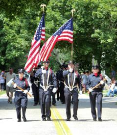 CFD Color Guard: Suffolk Times Photo