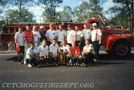 2nd place NYS old Fashioned Drill 1995