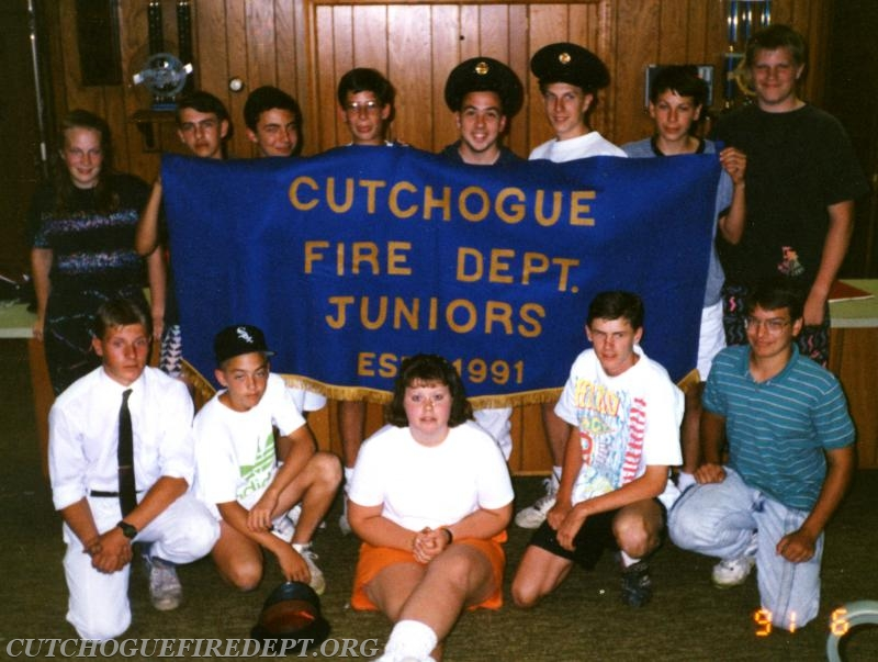 1991 CFD Juniors -  Charter members