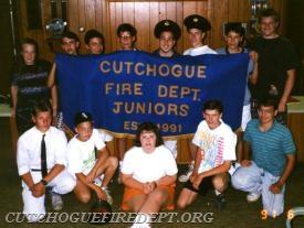 1991 CFD Juniors -  Charter members