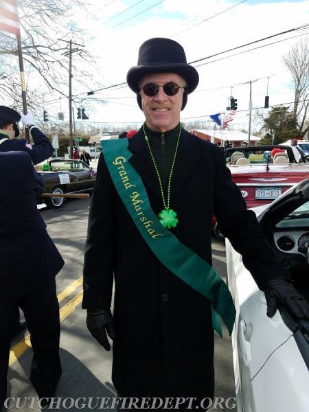 2018 Grand Marshal Paul Connor; Eastern Long Island Hospital President; CEO