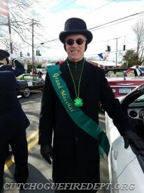 2018 Grand Marshal Paul Connor; Eastern Long Island Hospital President; CEO